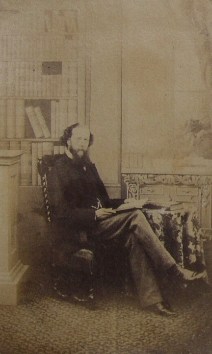 Portrait Photograph of Charles Buxton (1823-1871)