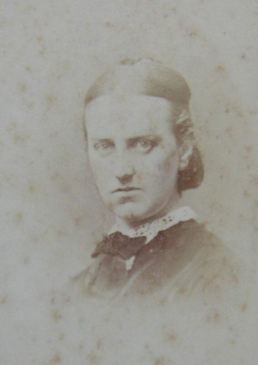 Portrait Photograph of Lucy Harrison nee Wedgwood 1846-1919