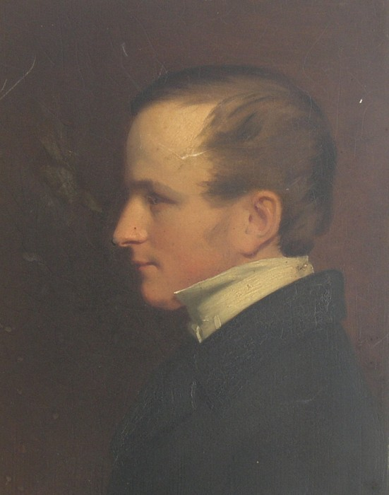 Assumed to be a portrait of Edward Kerrison Harvey 1826-1906