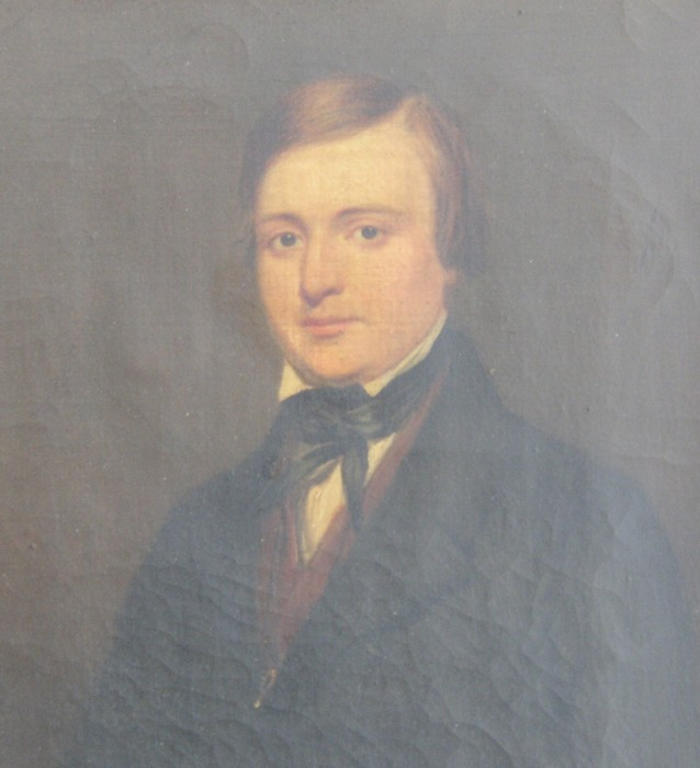 Portrait of Colonel John Edmund Harvey By George Clint ARA (1770-1854)