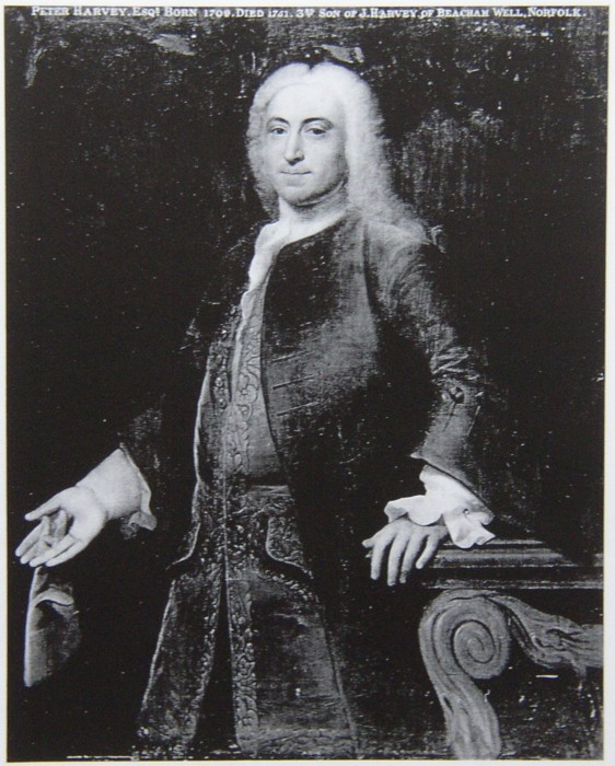 Portrait of Peter Harvey of Norwich 1709-1751
