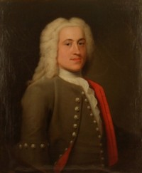 Portrait of Peter Harvey of Norwich 1709-1751 by John Theodore Heins