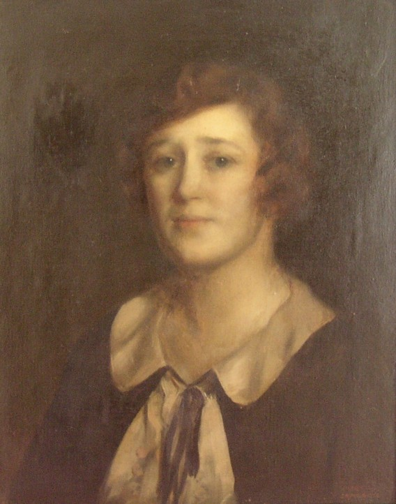 Portrait of Alesta Heath nee Macauslane (?-1975)