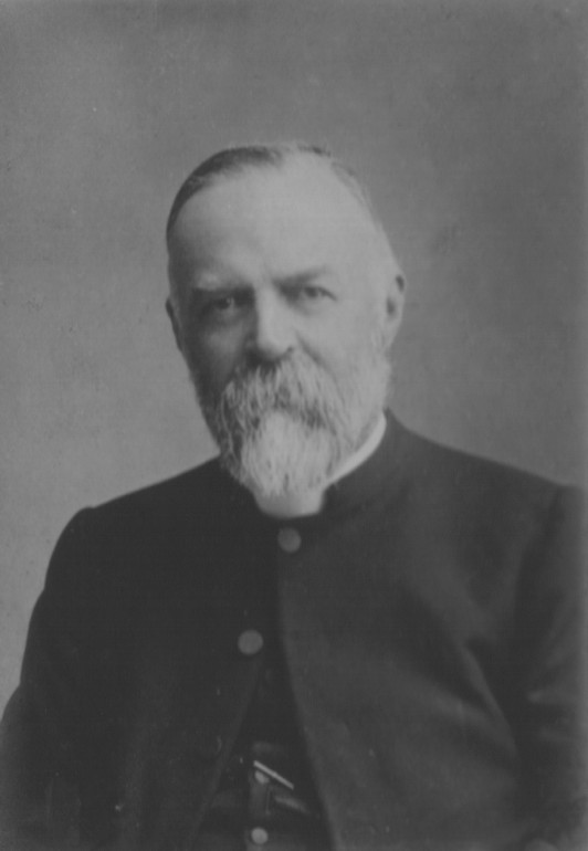 Portrait of Rev Douglas Leopold Heathof Bushend, Hatfield, Essex, 1849-1926