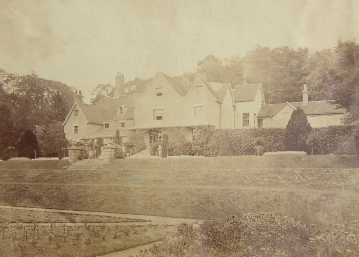 Photograph of Milland House, near Liphook, Hampshre.