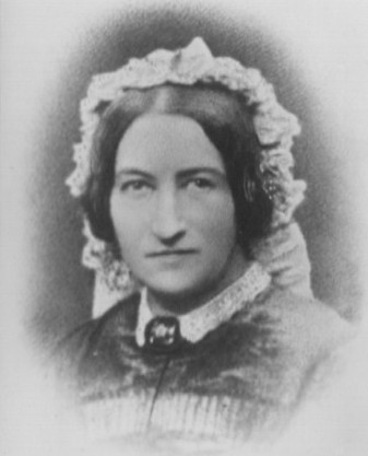 Portrait photograph of Marianne Heath nee Harman 1808-1882 who married Rev John Moore Heath of Milland, Liphook, Hampshire, England