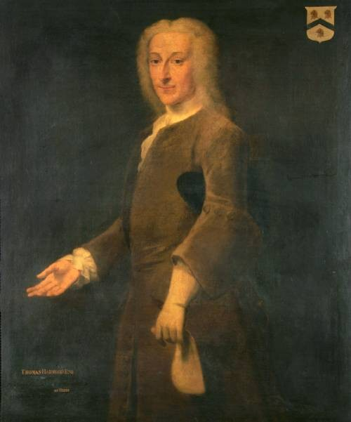 Portrait of Thomas Harwood Mayor of Norwich in 1728 painted by the artist John Theordore Heins 1697-1756 of Norwich Norfolk painter