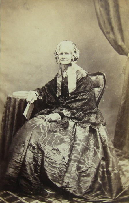 Portrait of Miss Mary Holland of Church House, Knutsford, Cheshire 1792-1877