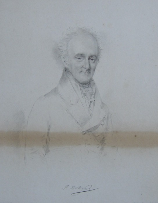 Portrait of Peter Holland Surgeon, Doctor of Church House, Knutsford, Cheshire, 1766-1855