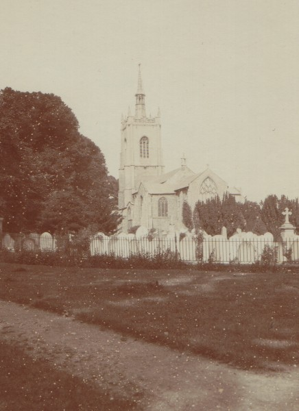 Photograph of church of St Peter and St Paul's