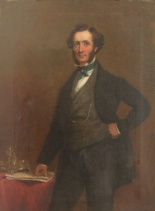 Portrait of Maj General Richard Henry Crofton 1818-1897