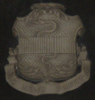 Family Coat of Arms of James Ramsey Cuthbert. Click for lager image