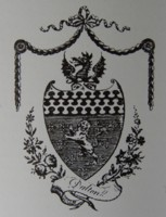 Bookplate of John Dalton of Norfolk