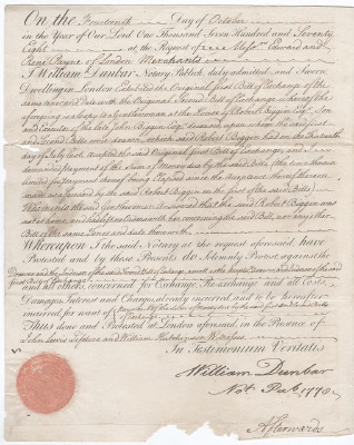 Bill of 