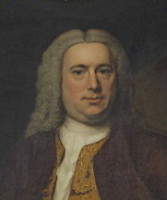 Portrait of John Harvey 1699-1750 of Ipswich, Norfolk.