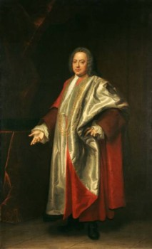 Portrait of Thomas Harvey of Norwich 1711-1772 painted in 1748 by the artist John Theodore Heins Heine 1697-1756 painter of Norwich Norfolk painting