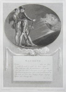Macbeth Painted by Thomas Stothard RA, Engraved by James Heath Engraver to his Majesty and his RH the Prince of Wales.