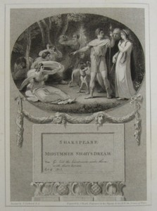 Midsummer Night's Dream Painted by Thomas Stothard RA, Engraved by James Heath Engraver to his Majesty and his RH the Prince of Wales.