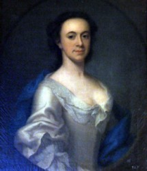 Portrait of Unknown Lady believed to be from the Bedingfeld family Oxburgh Hall painted by the artist John Theodore Heins 1697-1756 of Norwich Norfolk painter