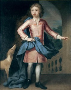 Portrait of John Ives 1718?-1793 painted by the artist John Theodore Heins Heine 1697-1756 painter of Norwich Norfolk