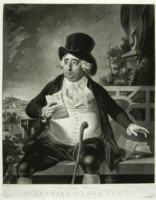 Portrait of Charles James Fox engraved by Johann Gerhard Huck 1759-1811 artist and engraver