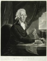 Portrait of William Pitt engraved by Johann Gerhard Huck 1759-1811 artist and engraver