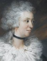 Portrait of Amelia Marsh nee Cuthbert 1765-1793 Painted in pastel by the artist John Russell RA 1745-1806