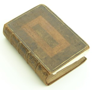 Bible of Francis Marsh which survived his Ship Wreck off the Isle of Wight around 1694