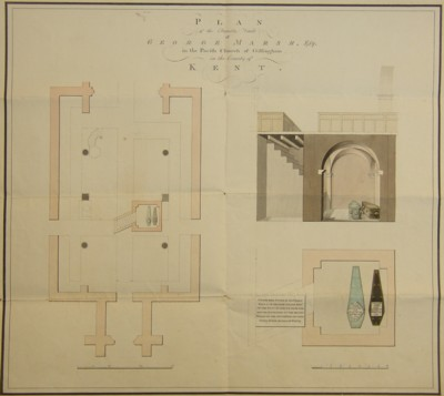 Plan of the Marsh Family Vault