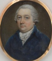 Miniature portrait of William Marsh 1755-1846.