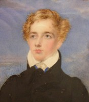 Portrait Miniature of Graham Francis Moore who later took on the name Graham Michel Esmeade 1806-1883