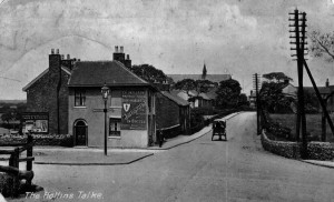 Caldwell Arms as it appeared in the early 1900s