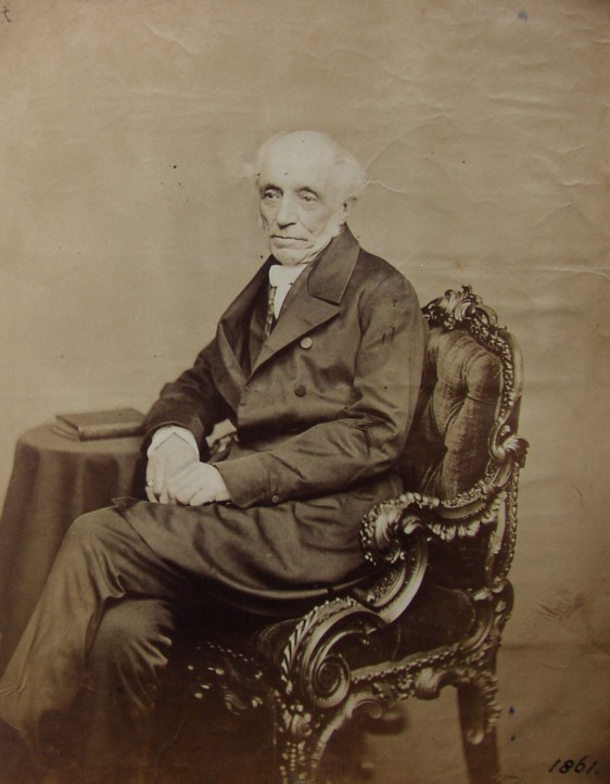 Portrait Photograph of Sir Henry Holland taken in 1861. (1788-1873) Physician Extraordinary to Queen Victoria.